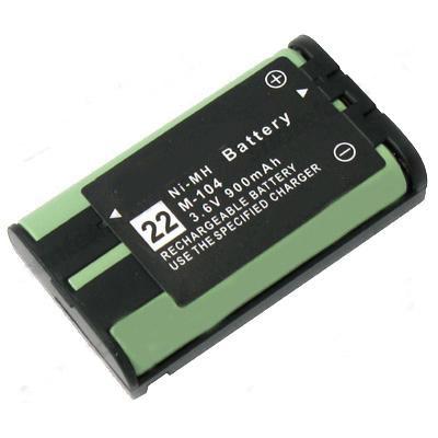 Batteri til Panasonic KX- serier 3.6 Volt 850mAh NIMH ATEL0006Panasonic KX-TG2357B,
