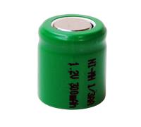 1/3AA 1,2V 300mAh NiMH  13.9 x 16.4mm