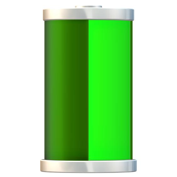 3,6v 2,2Ah nødlysbatteripakke m/ Faston i stav