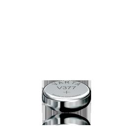 Varta V377 klokkebatteri 1,55V  S�lvoksid 27 mAh SR66TR626W,